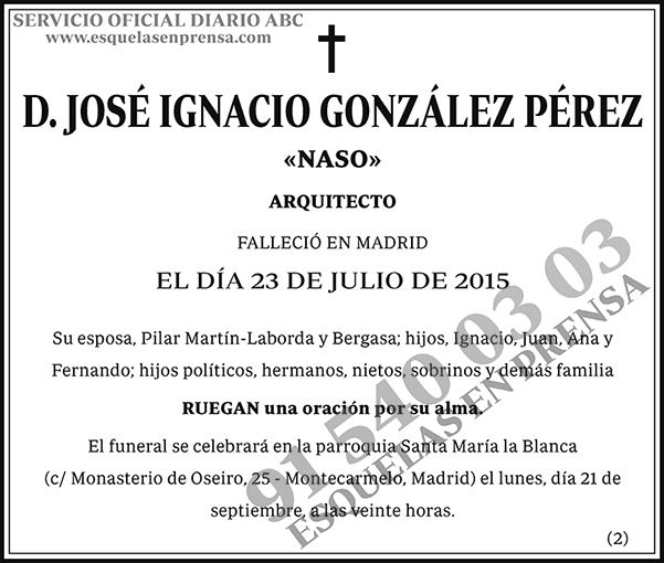 José Ignacio González Pérez
